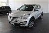 2015 Hyundai Santa Fe Active DM Turbo Diesel Manual 7 Seats Wagon