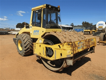2007 Bomag BW211PD Roller Pad Foot