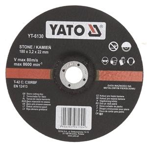 10 x YATO Stone Cutting Discs 180 x 3.2