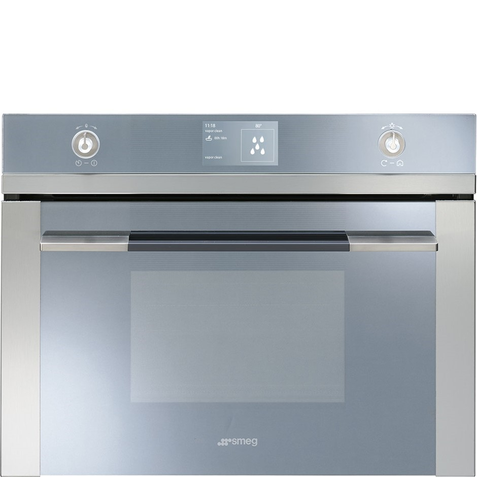 Smeg Linear Compact Combi-Steam Oven, Model: SFA4130VC-1