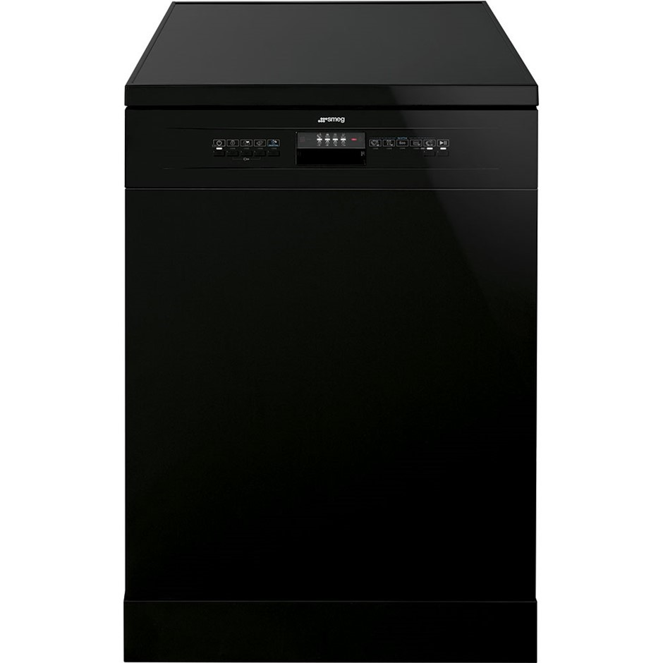 Smeg 60cm Black Freestanding Dishwasher, Model: DWA6314B
