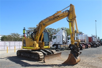 2016 Komatsu PC138-US Excavator