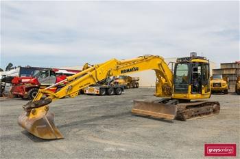 2016 Komatsu PC138US-8 Hydraulic Excavator