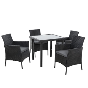 Outdoor Dining Set Patio Furniture Wicke