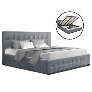 Artiss ROCA King Size Gas Lift Bed Frame