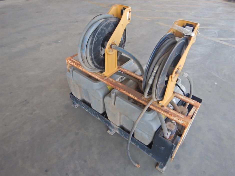 Qty 2 x 100L Diesel Fuel Tanks & Dispensers (Pooraka, SA)