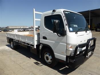 2016 Mitsubishi Fuso Canter 918 4x2 Tray Body Truck