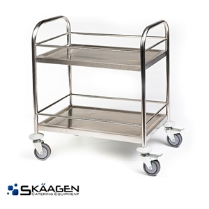 Unused Stainless Drink Trolley (Large)
