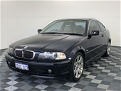 Unreserved 2002 BMW 320Ci E46 Automatic Coupe
