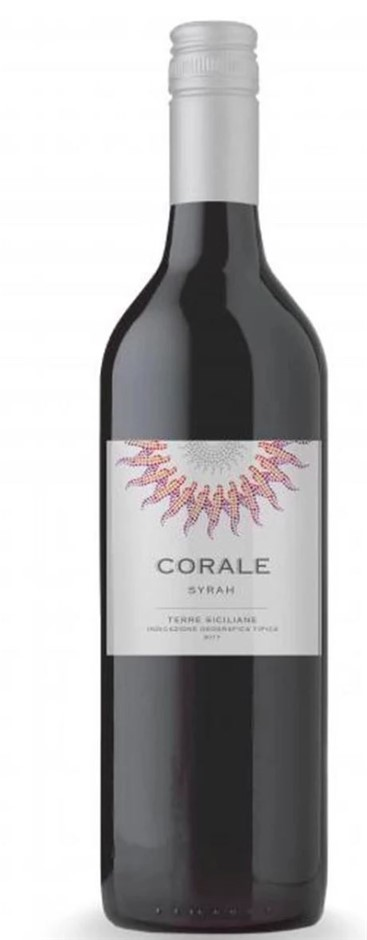 Corale Sicily IGT Syrah 2017 (6x 750mL) Italy