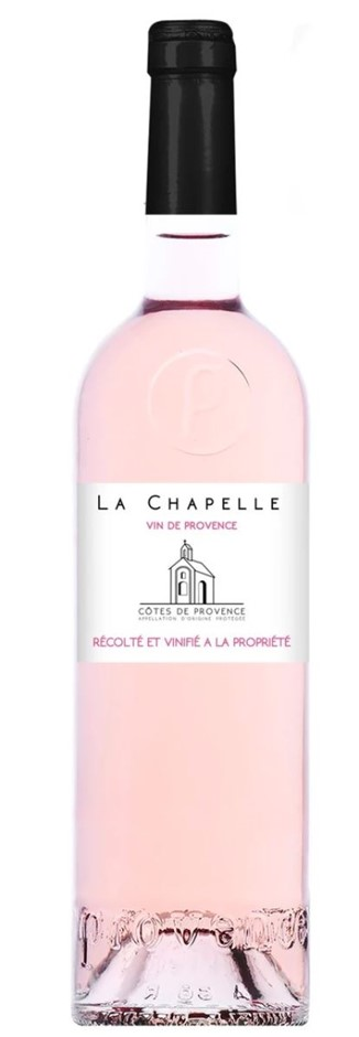 Domaine La Chapelle Cotes de Provence AOP Rosé 2016 (12x 750mL) France