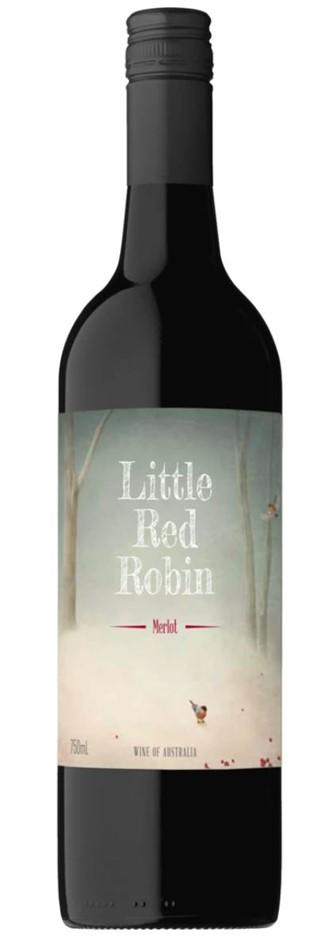 Little Red Robin Merlot NV (12x 750mL) SEA