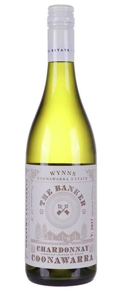 Wynns The Banker Coonawarra Chardonnay 2017 (6x 750mL) SA