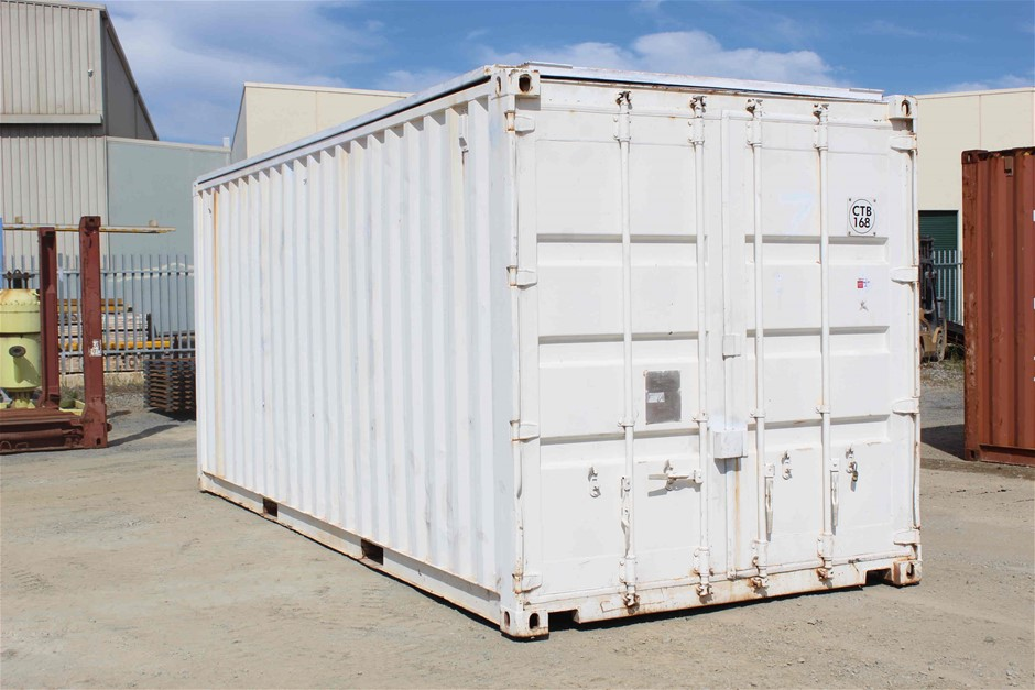 20 Foot Flip Top Roof Sea Container
