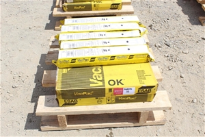 4 Boxes Esab Vac Pac Welding Rods