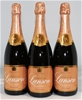 Lanson 'Rose Label' Brut Champagne NV (3x 750ml)