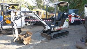 Bobcat 323**J (J Series) Mini Excavator