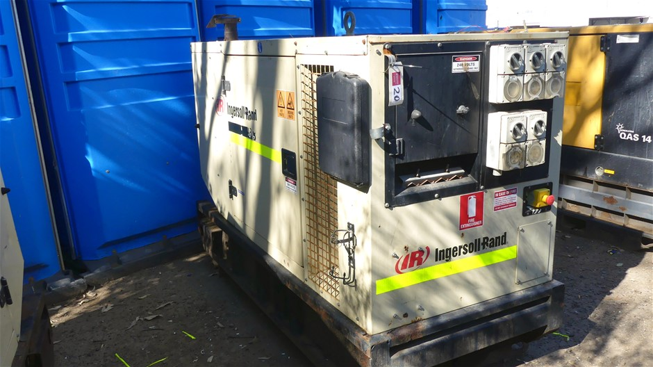 Ingersoll-Rand G40 Packaged Generator