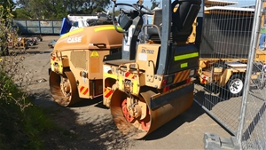 Articulated Road Roller