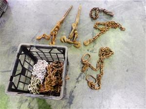 Qty 2 x Dog Chains (Pooraka, SA)