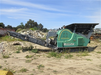 2010 Komplet LEM Track 6040 Jaw Crusher (Location: Maddington, WA)