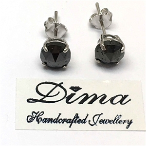 18ct White Gold, 4.22ct Diamond Earring