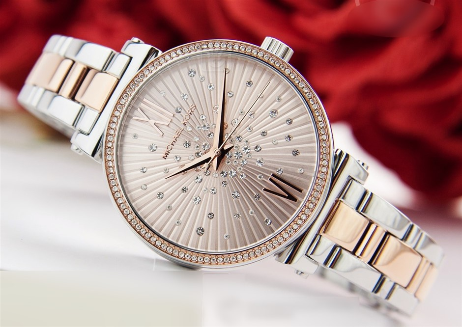 Ladies new Michael Kors Couture NY 'Sofie' glamorous watch.