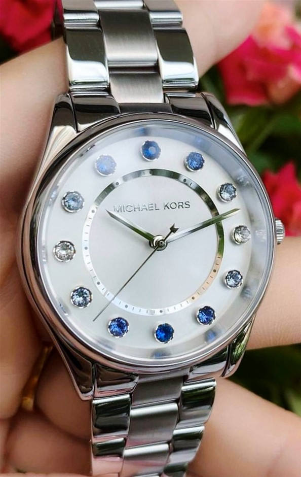 Ladies new Michael Kors Couture NY 'Colette' fabulous watch