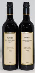 Parker `Terra Rossa 1st Growth` Cab Merlot 2005 (2x 750ml). Screwcap