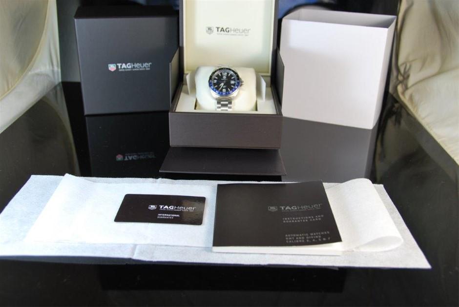 Authentic Tag Heuer Formula Calibre 7 TT Automatic Watch