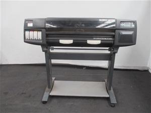 Hewlett Packard DesignJet 1050C Wide Car