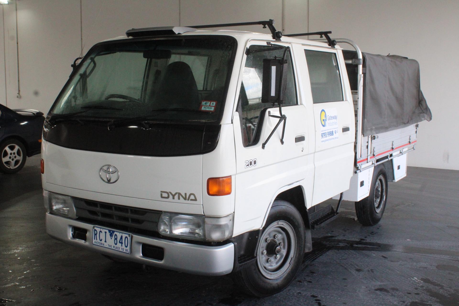 2001 Toyota DYNA 200 Manual Dual Cab