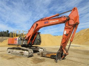 2008 Hitachi ZX350LCH-3 Hydraulic Excavator with Bucket