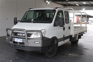 2011 Iveco Daily Manual Dual Cab Chassis