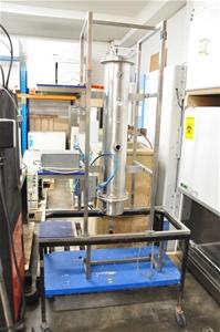 Vertical high grade stainless steel reac