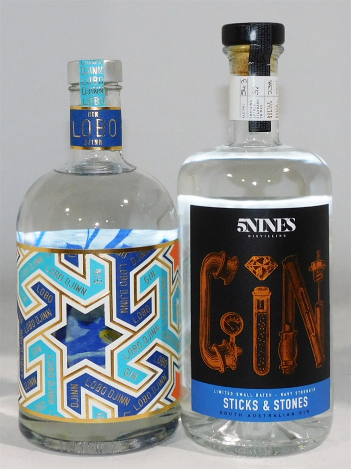 Pack of Assorted Gin (2x 700ml)