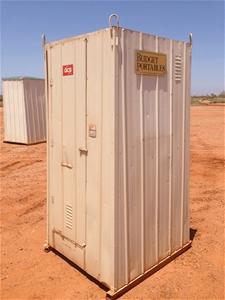 Portable Toilet Cubicle (Location: Karra