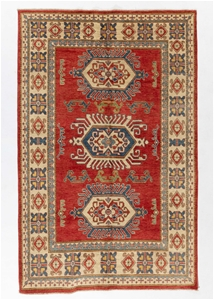 Afghan Kazak 100% wool pile hand knotted