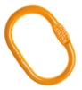 B-ALLOY Oblong Master Link, WLL 2.7T Chain size: 8/7mm. Buyers Note - Disco