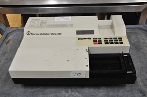 Plate reader for 96 well plates 340 – 69