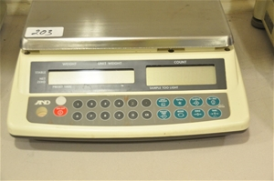 Balance for counting 6kg x 1g, 240V. A&D