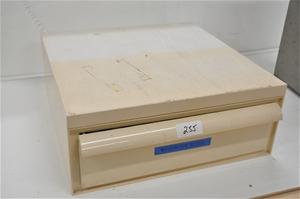 Microscope slide storage cabinet (266478