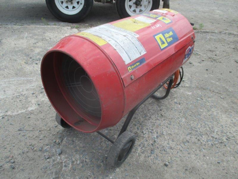 Jetfire J33 Jet Heater - Burleigh