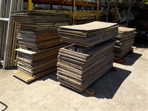 Large Qty of Assorted Plywood - Coolum