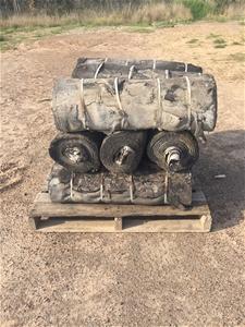 Pallet of 9 x 900mm Rolls Melthoide Damp
