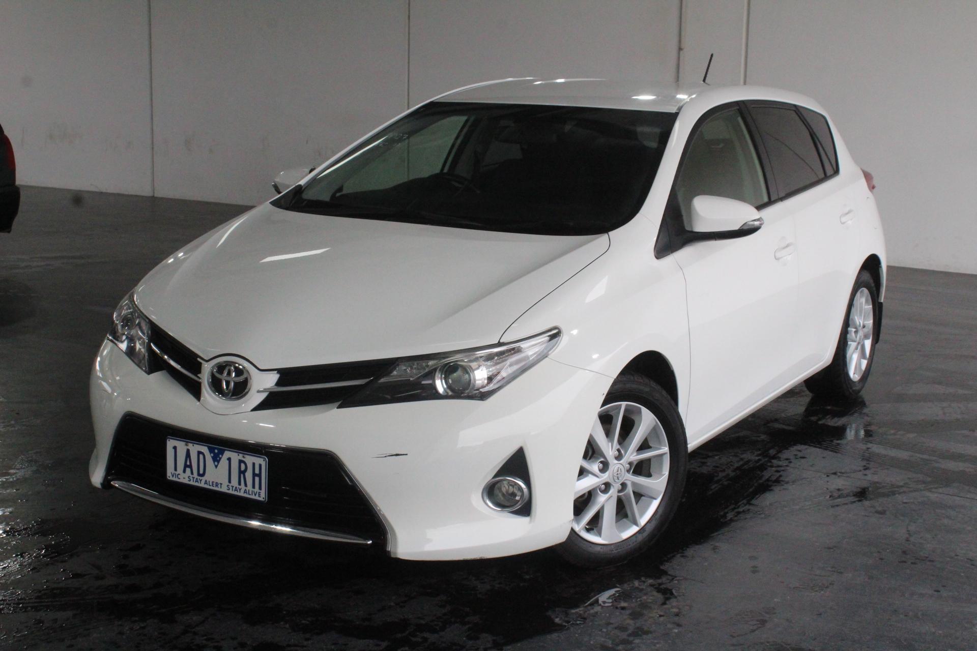 2013 Toyota Corolla Ascent Sport ZRE182R CVT Hatchback (EX GOV)