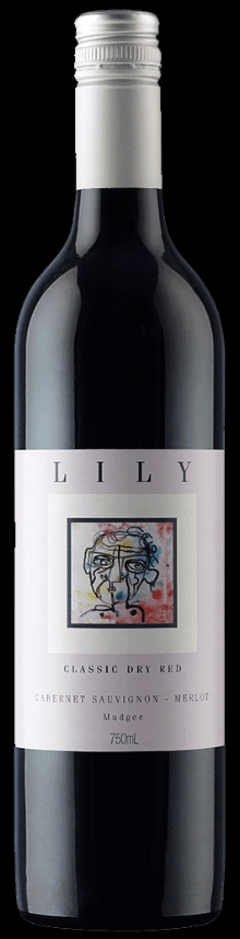 Lily Classic Dry Red 2015 (12 x 750mL), Mudgee.