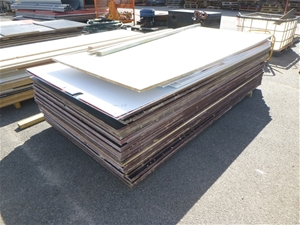 Stack of Form Ply Sheets