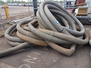 A Large Quantity of Suction Pipe