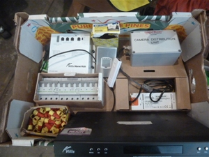 Box Of Various Electrical Items (Pooraka